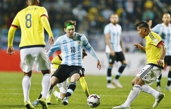 Argentina cùng bảng Colombia ở Copa America 2019